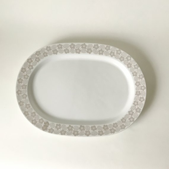 RYPALE OVAL PLATE | M