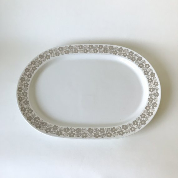 RYPALE OVAL PLATE | L