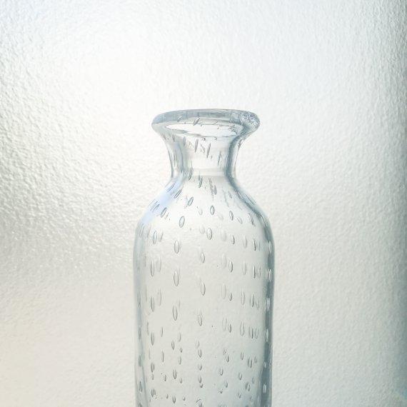 BUBLE GLASS BOTTLE