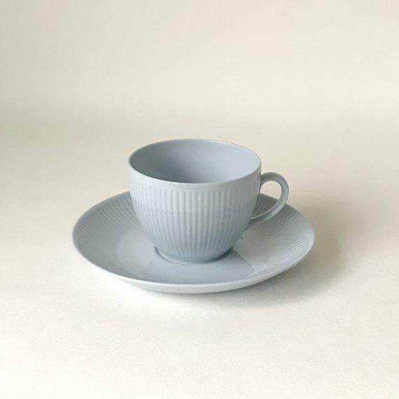 SOINTU COFFEE CUP & SAUCER   l.blue