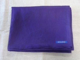 �麻の一枚布 紫 2m