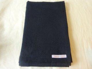 �麻の一枚布 紺 2m