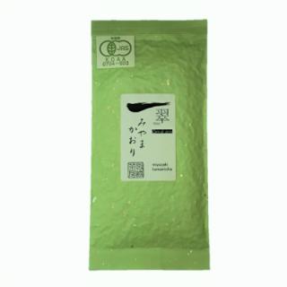 有機釜炒り茶【品種別限定】みやまかおり50g