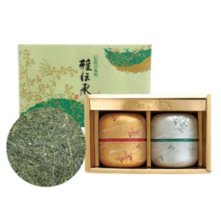 かぶせセット なつめ缶(金・銀)100g×2缶入