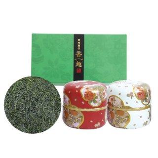 ふく玉露セット なつめ缶(赤・白)60g×2缶入
