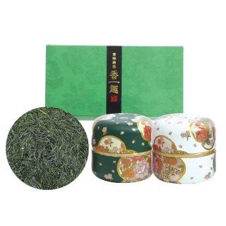 こもかけセット なつめ缶(緑・白)80g×2缶入