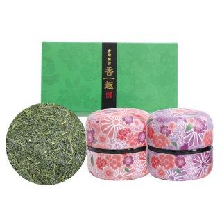 かぶせセット なつめ缶(ピンク・紫)80g×2缶入