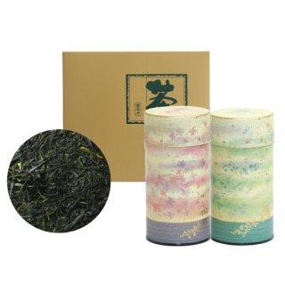 深蒸し一番セット 京おぼろ缶(ピンク・緑)200g×2缶入