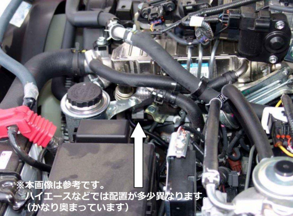 【DTE SYSTEMS】 BoostrPro ブースタープロ #7003 TOYOTA 2.4DT/2.8DT/3.0DT エンジンパワーアップ