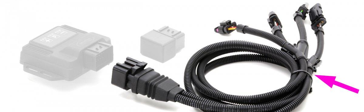 【DTE SYSTEMS】 PowerControl 補修部品 専用ハーネス 標準タイプ ※ご注文時に品番を指定