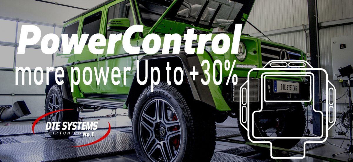 【DTE SYSTEMS】 PowerControl RX パワーコントロールRX #PCRX5107 1.5T B38 for BMW i8 エンジンパワーアップ