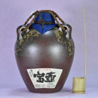 博多小女郎 宝壺(麦)1.8L(1本/箱入・木枠入・柄杓付)〔本格麦焼酎〕