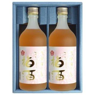 太宰府さんのおいしい梅酒 720ml×2本セット (ギフト箱入)〔梅酒〕