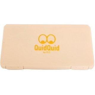 QuidQuidオリジナル 抗菌マスクケース<5枚入ハードケース>(日本製)
