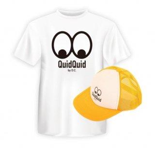 QuidQuid オリジナル Tシャツ&キャップセット<br>