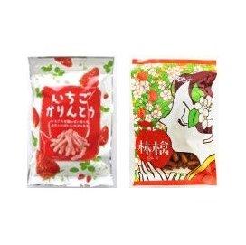 かりんとうセットA 【林檎と苺の赤い果実セット】(予約販売開始〜)<br>