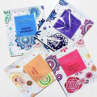PIKOK セイロンティー  4種セット(1箱10袋入り×4種)【正式販売開始〜先着100セット特別価格】<br>