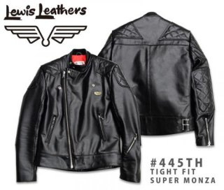 【Lewis Leathers/ルイスレザーズ】レザージャケット #445TH: TIGHT FIT SUPER MONZA ホースハイド