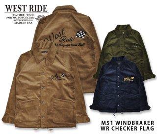【WESTRIDE/ウエストライド】ウィンドブレーカー/ M51 WINDBRAKER
