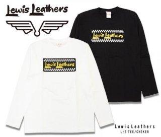 【Lewis Leathers/ルイスレザーズ】ロングスリーブTシャツ / CHECKER