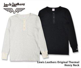 【Lewis Leathers/ルイスレザーズ】オリジナルサーマル:ヘンリーネック, ポケット付き  Original Thermal Henley Neck