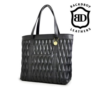 【BACKDROP Leathers / バックドロップ・レザーズ】バッグ/DIA TOTE BAG