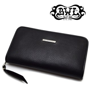 【Bill Wall Leather/ビルウォールレザー】ウォレット/W945/Zipper / Cow Hide (Yen) (Wallet Hole=無し)
