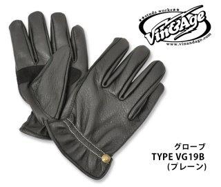 【Vin&Age/ヴィンアンドエイジ】グローブ/TYPE VG19B (プレーン)
