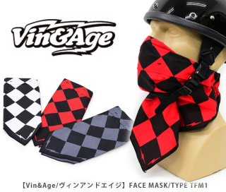 【Vin&Age/ヴィンアンドエイジ】FACE MASK/TYPE TFM1
