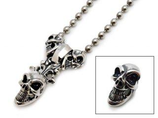 【Bill Wall Leather/ビルウォールレザー】スカルビーズ/C324:Skull Bead