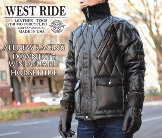 【WEST RIDE/ウエストライド】レザージャケット/ALL NEW RACING DOWN JK2