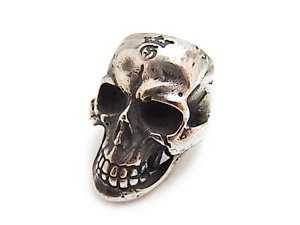 【Gaboratory/ガボラトリー】リング:157-A LARGE SKULL RING WITH JAW