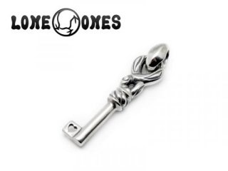 【LONE ONES/ロンワンズ】ペンダント/MFP-0067S:Crane Key Small Pendant