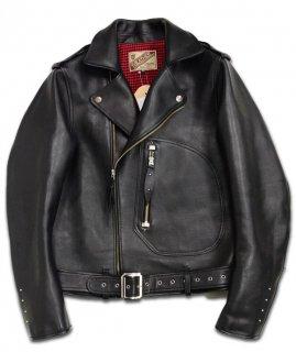 【Y'2 LEATHER/ワイツーレザー】レザージャケット/ Y2-02 ECOHORSE/1930'S DOUBLE MOTORCYCLE JACKET