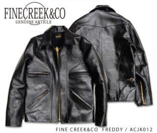 【FINE CREEK&CO/ファインクリークアンドコー】レザージャケット/FREDDY:ACJK012