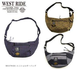 【WESTRIDE/ウエストライド】バッグ / MINI SHOULDER BAG (NEW COLOR)