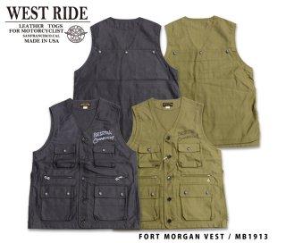 【WEST RIDE/ウエストライド】 ベスト / FORT MORGAN VEST