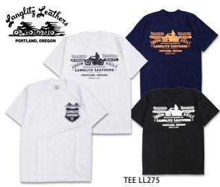 【Langlitz Leathers】Tシャツ/ S/S Tee LL275 --REALDEAL仙台