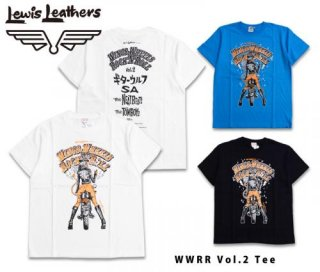 【Lewis Leathers/ルイスレザーズ】Tシャツ  WWRR Vol.2 Tee
