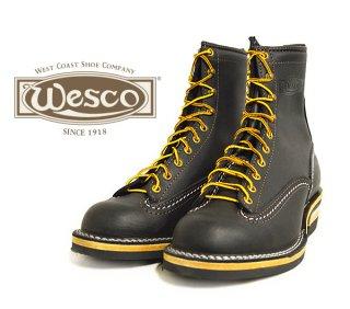【Wesco/ウエスコ】ブーツ / JOB MASTER:Lace To Toe :ブラック 8ハイト #430ソール