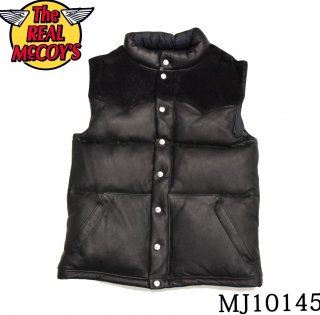 【THE REAL McCOY'S】DEERSKIN DOWN VEST:MJ10145