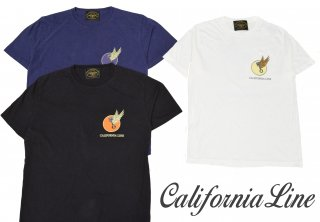 【CALIFORNIA LINE】Tシャツ/Flying Piston:CLC20-015