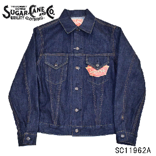 【SUGAR CANE/シュガーケーン】SC11962A 14oz. DENIM JACKET 1962MODEL