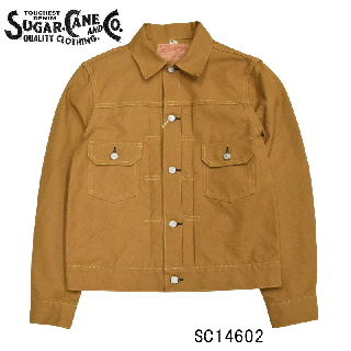 【SUGAR CANE/シュガーケーン】 SC14602 13oz. BROWN DUCK1953 MODEL