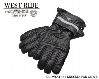 【WESTRIDE/ウエストライド】グローブ/ALL WEATHER KNUCKLE PADD GLOVE:20-03