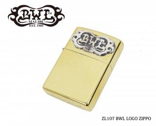 【Bill Wall Leather/ビルウォールレザー】ZIPPO/ZL107 BWL LOGO ZIPPO