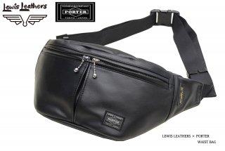 【Lewis Leathers/ルイスレザーズ】×【PORTER/ポーター】バッグ/WAIST BAG