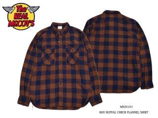 【THE REAL McCOY'S/リアルマッコイズ】ネルシャツ/8HU BUFFALO CHECK FLANNEL SHIRT:MS20101