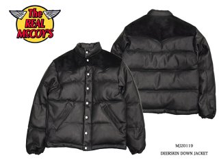 【THE REAL McCOY'S/リアルマッコイズ】DEERSKIN DOWN JACKET:MJ20119