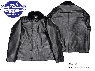 【Buzz Rickson's /バズリクソンズ】ジャケット/BLACK LEATHER N-1:BR80580